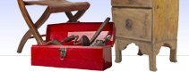 antiques, furniture, tools and more